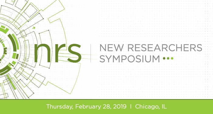 New Researchers Symposium 2019